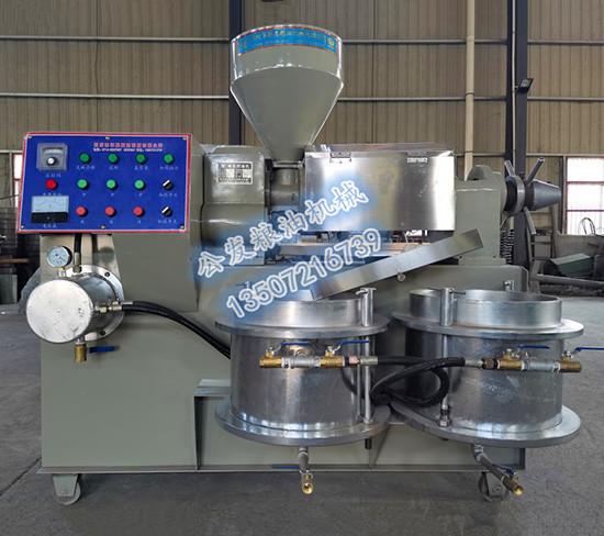 YZYX90新型真空组合榨油机